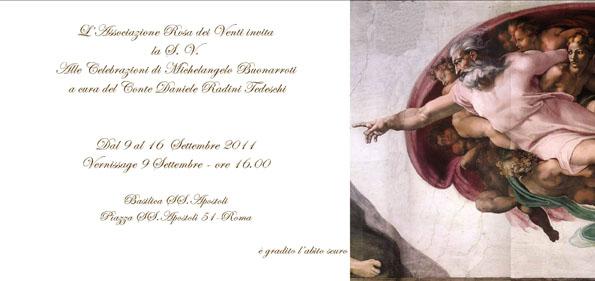 Celebrazioni di Michelangelo Buonarroti