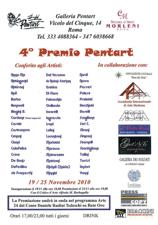 4° Premio Pentart