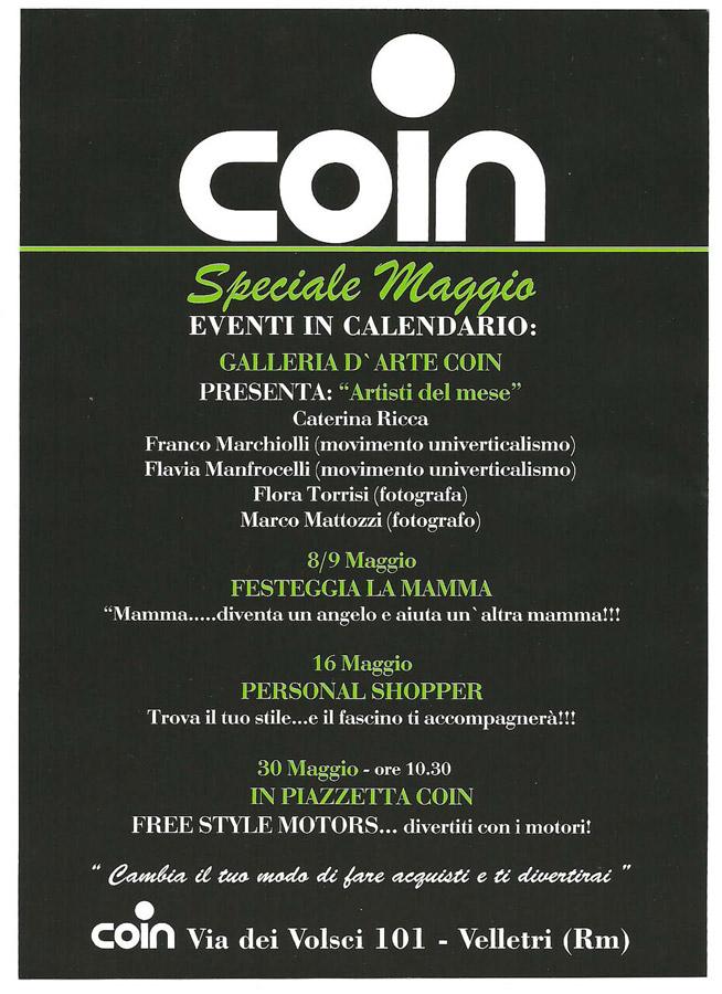 Coin - Artisti del Mese