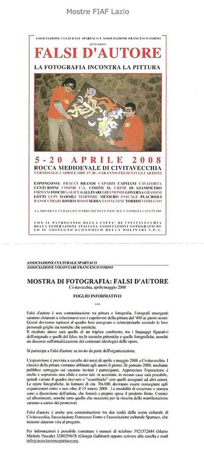 Falsi d'Autore 2008