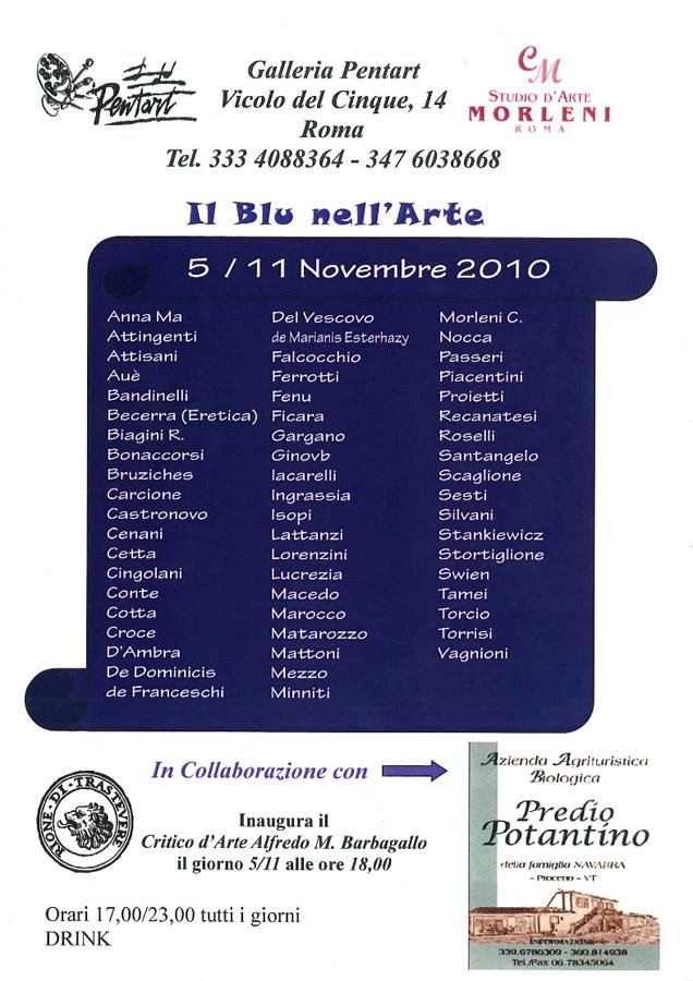 Il Blu nell'Arte