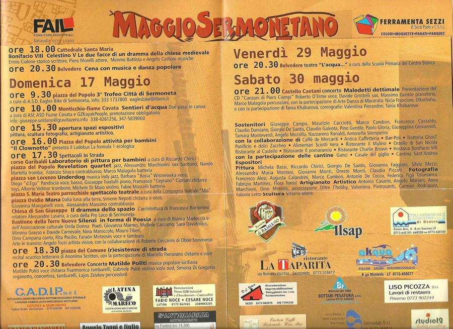 Maggio Sermonetano 2009