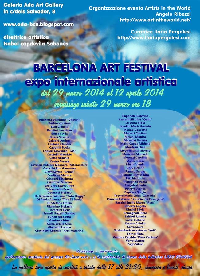 Barcelona Art Festival - expo internazionale artistica